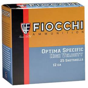 "Fiocchi 12ga 3"" 1-3/4oz. #6-Shot High Velocity 25/box"