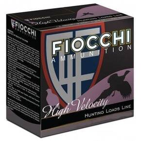 "Fiocchi High Velocity Shotshells 12ga 2-3/4"" 1 -1/4oz 1330 fps #4 25/ct"