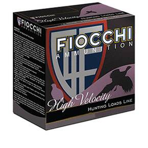 Fiocchi High Velocity Shotshells 12ga 2-3/4 1-1/4oz 1330 fps #7.5 25/ct