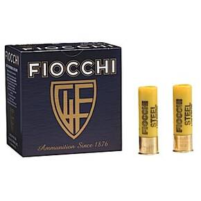 "Fiocchi Target Steel Low Recoil Shotshells 12ga 2-3/4"" 1oz 1200 fps #7 25/ct"