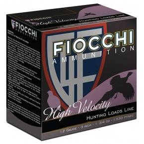 "Fiocchi High Velocity Shotshells 16ga 2-3/4"" 1-1/8oz 1300fps #5 25/ct"