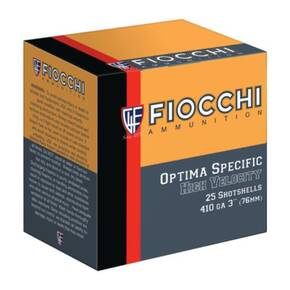 "Fiocchi High Velocity - .410ga 3"" #8-Shot 11/16oz. 25/Box"