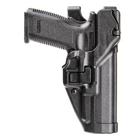 Blackhawk! for Glock 17 Level 3 Duty Serpa Holster Right Hand - Black