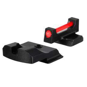 Truglo Fiber Optic Pro Sight Set For S&W M&P (excluding .22 Compact, C.O.R.E. models, and Shield 380 EZ), SD9 and SD40 (excluding VE models)