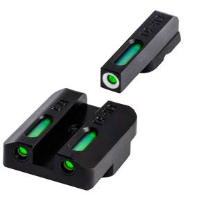 Truglo TFX Tritium Fiber-Optic Xtreme Handgun Sight Set For CZ P10
