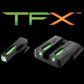 Truglo TFX Tritium/Fiber-Optic Day/Night Sights S&W M&P