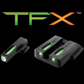 Truglo TFX Tritium/Fiber-Optic Day/Night Sights S&W M&P (including SHIELD & .22 models, excluding .22 Compact / C.O.R.E. models), SD9 and SD40 (excluding VE models)