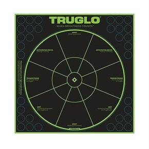 "Truglo Tru-See Self-Adhesive Targets with XTREME Downrange Visibility 12""x12"" 50/pk"