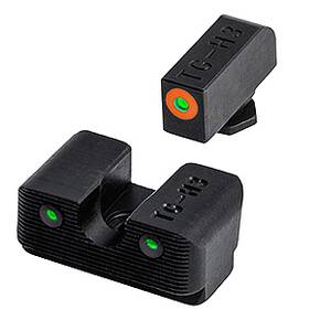 Truglo Tritium Pro Night Low Sight Set - For Glock 17 / 17L, 19, 22, 23, 24, 26, 27, 33, 34, 35, 38, 39, 45 (Excluding M.O.S. models)
