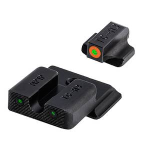 MTruglo Tritium Pro Night Sight Set for Select S&W M&P models - Orange