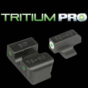 Truglo Tritium Pro Sights White for CZ Model 75