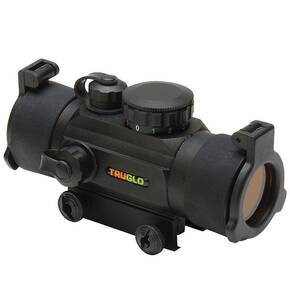Truglo Red Dot Xtreme Dual Color Multi-Reticle Sight - 30mm Illum. Multi Reticle Black