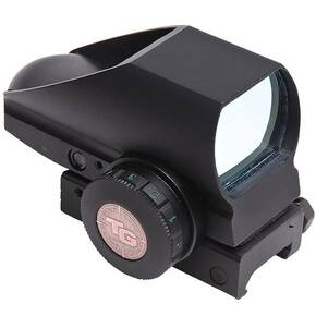 Truglo Tru-Brite Dual Color Open Red Dot Sight - 24x34mm 5 MOA Red/Green Dot  Black