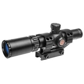 Truglo Tru-Brite 30 Series Tacticle Rifle Scope - 1-4x24mm 30mm MIL 1PC