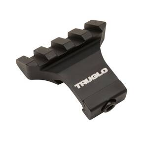 "Truglo 2"" Offset Picatinny 45 Degree Angled Rail Mount w/Recoil Lug"