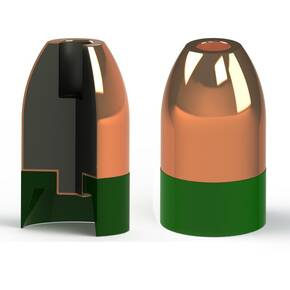 Powerbelt Copper-Plated Muzzleloader Bullets .50 cal 295 gr CHP 15/ct