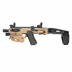 Command Arms MCK Conversion Kit w/Brace for Sig Sauer p320 9mm Luger &.40 S&W - Tan/FDE