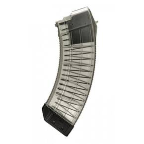 Century Arms US Palm AK30R Rifle Magazine 7.62x51 / .308 Win 30/rd Clear/Black Polycarbonate