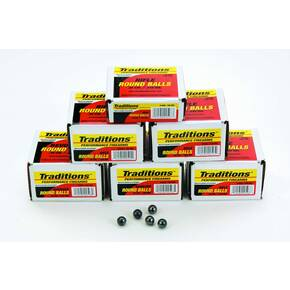 "Traditions Muzzleloader Revolver Round Ball - Bulk Pack .44 cal .454"" 140 gr  100/ct"