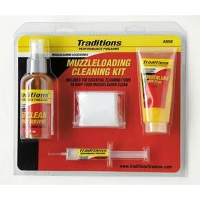 Traditions Basic Muzzleloader Cleaning Kit .50 cal