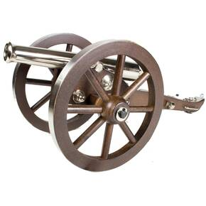 "Traditions .50 cal Mini Napoleon III Cannon with 6 "" Wheel Diameter 7.25"" Barrel"