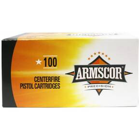 Armscor Value Pack Handgun Ammunition .22 TCM  40 gr JHP 1480 fps 100/ct