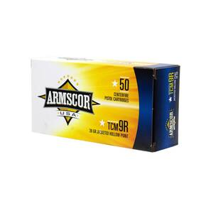 Advanced Tactical Firearms Armscor Hand Ammunition .22TCM 9R 39 gr JHP 50/ct