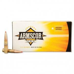 Armscor Rifle Ammunition .300 Blackout 208 gr AMAX 1150 fps 20/ct