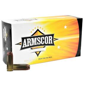 Armscor Handgun Ammuntion 50AE 300 gr JHP 1250 fps 20/ct