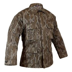NATCHEZ EXCLUSIVE Tru-Spec BDU Coat - Original Bottomland Camo 100% Cotton