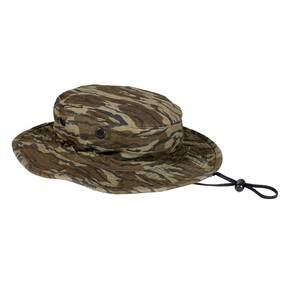 "NATCHEZ EXCLUSIVE Tru-Spec Boonie Hat - Original Bottomland Camo 2"" Brim 100% Cotton One Size Fits Most"