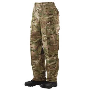 Tru-Spec BDU Pants - 50/50 CORDURA Nylon Cotton Rip-Stop MultiCam