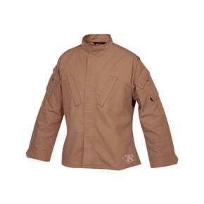 Tru-Spec Tactical Response Uniform (TRU) Shirt - 65/35 Polyester/Cotton Rip-Stop Coyote Small