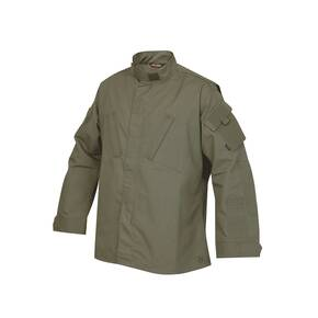 Tru-Spec Tactical Response Uniform (TRU) Shirt - 65/35 Polyester/Cotton Rip-Stop Olive Drab Small