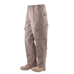 Tru-Spec Tactical Response Uniform (TRU) Pants - 65/35 Polyester/Cotton Rip-Stop Khaki Small