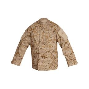 Tru-Spec Tactical Response Uniform (TRU) Shirt - 65/35 Polyester/Cotton Rip-Stop Digital Desert Medium