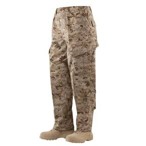 Tru-Spec Tactical Response Uniform (TRU) Pants - 65/35 Polyester/Cotton Rip-Stop Desert Digital Large