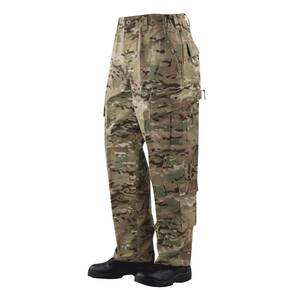 Tru-Spec Tactical Response Uniform (TRU) Pants - 65/35 Polyester/Cotton Rip-Stop MultiCam Large