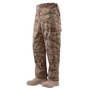 Tru-Spec BDU Pants - 100% Cotton Rip-Stop Desert Tiger Stripe Small