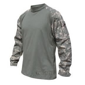 Tru-Spec T.R.U. Combat Shirt - 50/50 Nylon/Cotton Rip-Stop Army Digital
