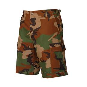 Tru-Spec BDU Shorts - 100% Cotton Rip-Stop Woodland Small