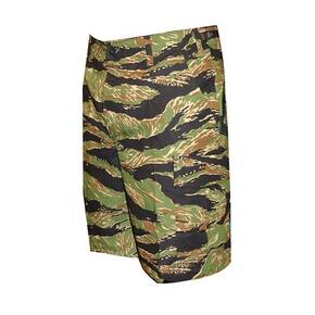 Tru-Spec BDU Shorts - 100% Cotton Rip-Stop Vietnam Tiger Stripe Small