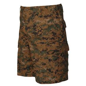 Tru-Spec BDU Shorts - 100% Cotton Rip-Stop Digital Woodland Small