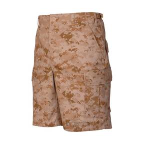 Tru-Spec BDU Shorts - 100% Cotton Rip-Stop Digital Desert Small