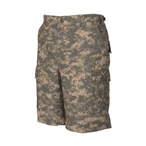 Tru-Spec BDU Shorts with Zip Fly - 100% Cotton Rip-Stop All Terrain Digital
