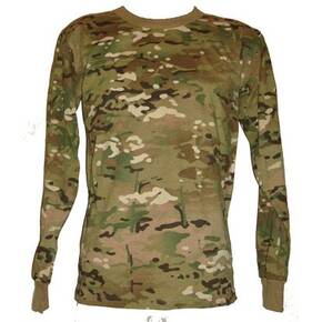 Tru-Spec Long Sleeve T-Shirt - Multi Camo Small