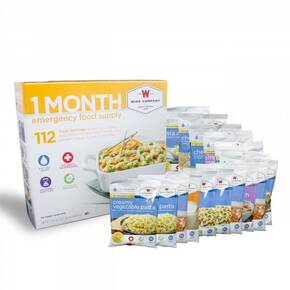 Wise Company 30 Day Food and Drinks For One Person-112 Servings
