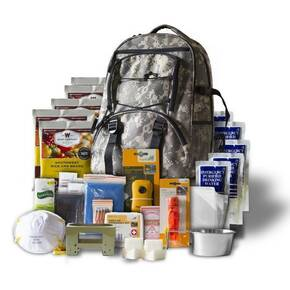 Wise Five Day Survival Kit Backpack For One Person-32 Servings Camo