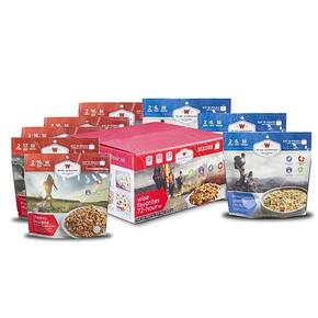 Wise 72 Hour Freeze Dried Camping & Backpacking Supply Food Favorites Box-18 Servings