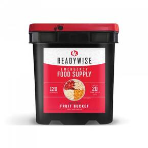Wise Company Freeze Dried Fruit Bucket 120 Servings